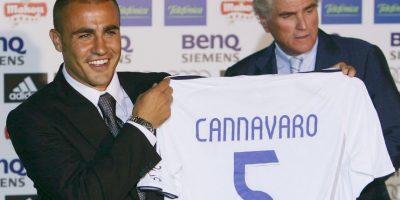 3. Fabio Cannavaro (Real Madrid) Foto:Getty Images