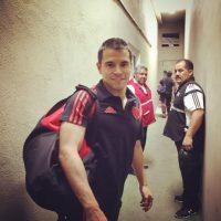 También regresó a River en calidad de libre, 14 años después de que se mudara a Barcelona Foto:Vía twitter.com/CARPOficial