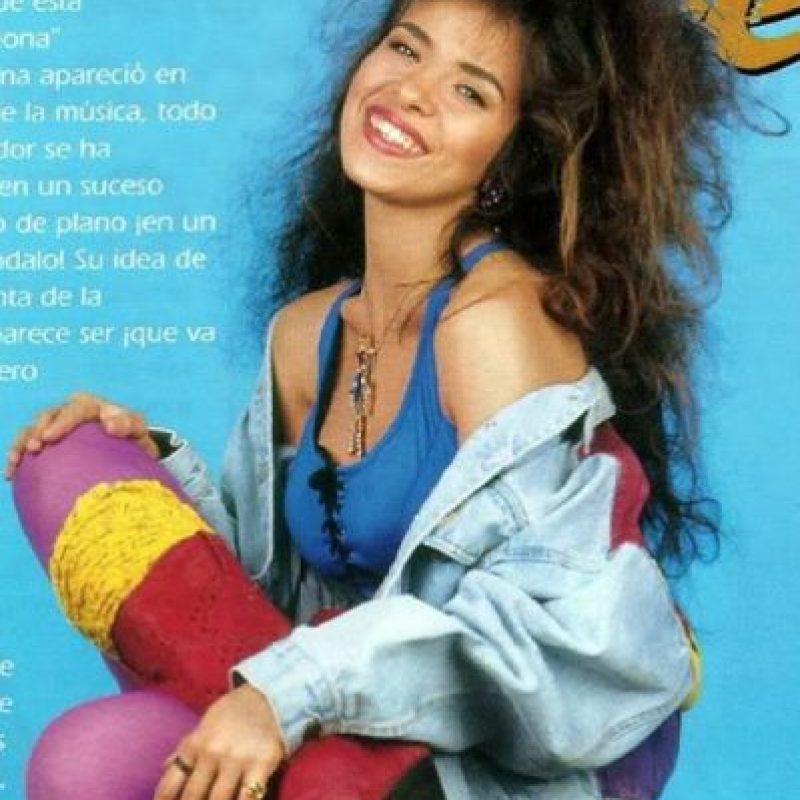 Gloria Trevi y su estilo trashy. Foto:vía Coveralia
