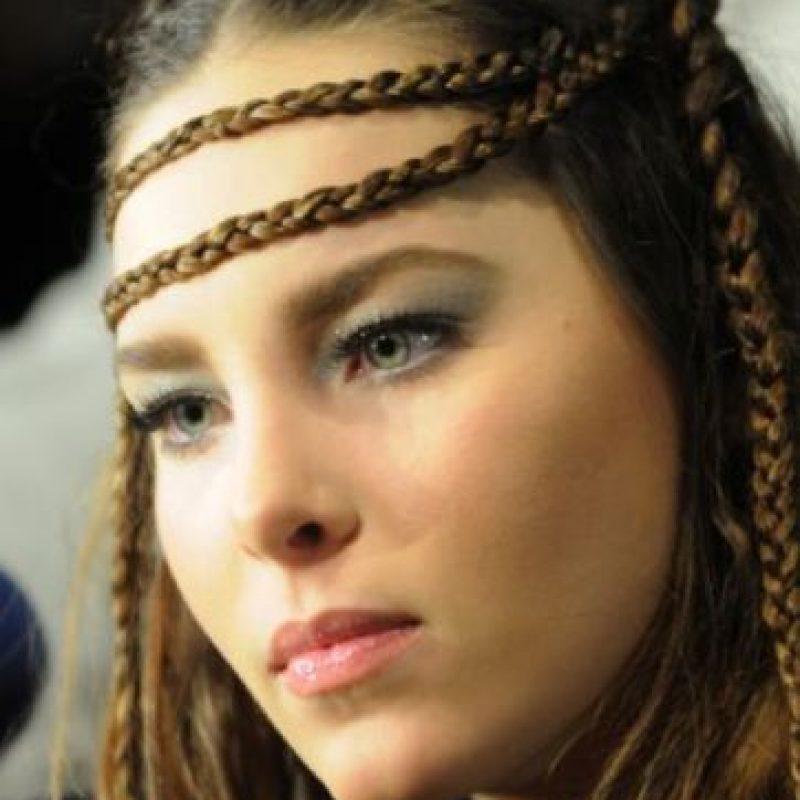 """Las trenzas de Belinda a lo """"Game of Thrones"""". Foto:vía Getty Images"""