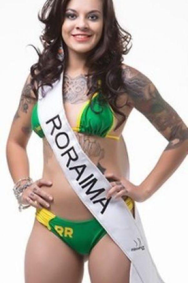 Isadora Santos de Roraima. Foto:missbumbum2015.com.br