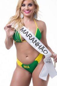 Fernanda Abraao de Maranhao. Foto:missbumbum2015.com.br
