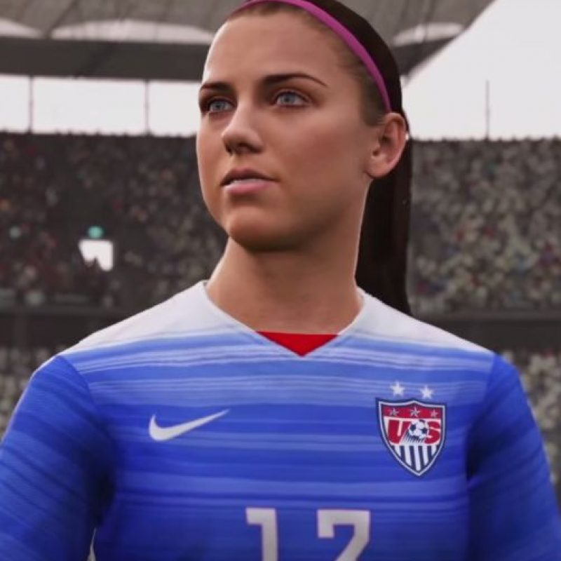 Alex Morgan. Foto: EA Sports