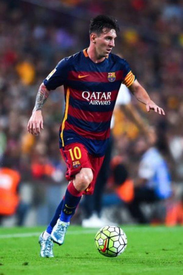 El argentino Lionel Messi juega en el Barcelona de España. Foto:Getty Images