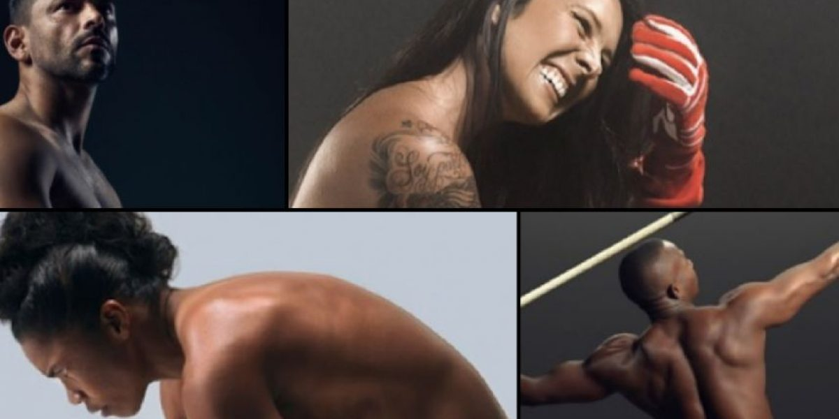 FOTOS: 4 deportistas colombianos se desnudaron para ESPN