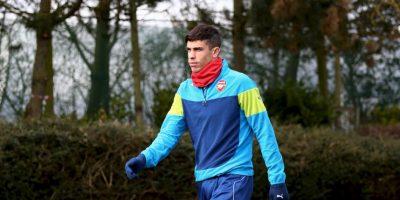 Fichó con el Arsenal en enero pasado Foto:Getty Images
