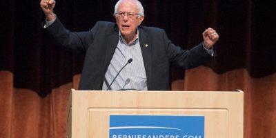 Bernie Sanders, candidato del Partido Demócrata, está en estrecha competencia con Clinton respecto a las búsquedas. Foto:Getty Images