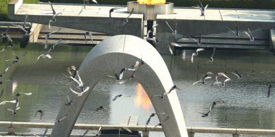 Este es el Peace Memorial Park , donde se recuerda a las cerca de 140 mil víctimas de estos ataques Foto:Getty Images