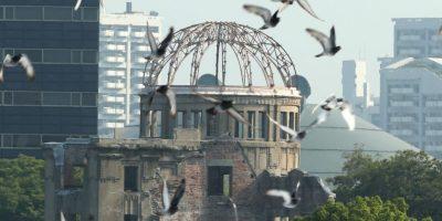 Se lanzaron palomas como símbolo de paz Foto:Getty Images