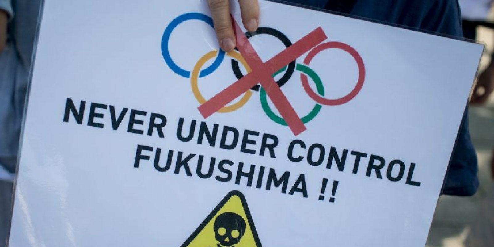 También estuvo presente el recuerdo de la planta nuclear de Fukushima Foto:Getty Images