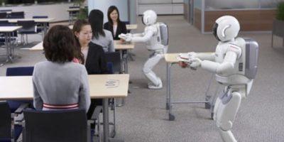 ASIMO (Advanced Step in Innovative Mobility). Este robot puede caminar y subir escaleras sin ningún tipo de ayuda. Foto:Getty Images