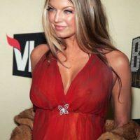 A Fergie se le ve todo y mucho más. Foto:vía Getty Images
