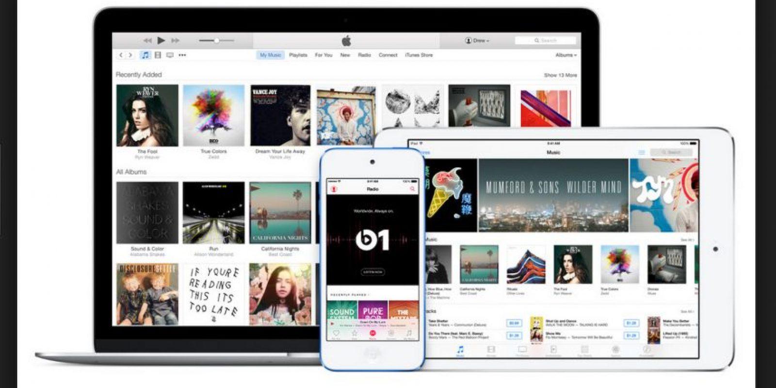 En el mismo evento, se ofreció una paquete de 14.99 dólares al mes por 6 personas Foto:Apple