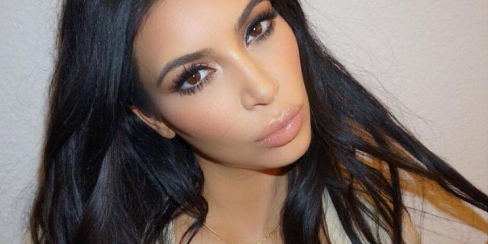 Kim Kardashian Foto:Vía Instagram