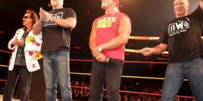 Fue líder del grupo nWo Foto:WWE