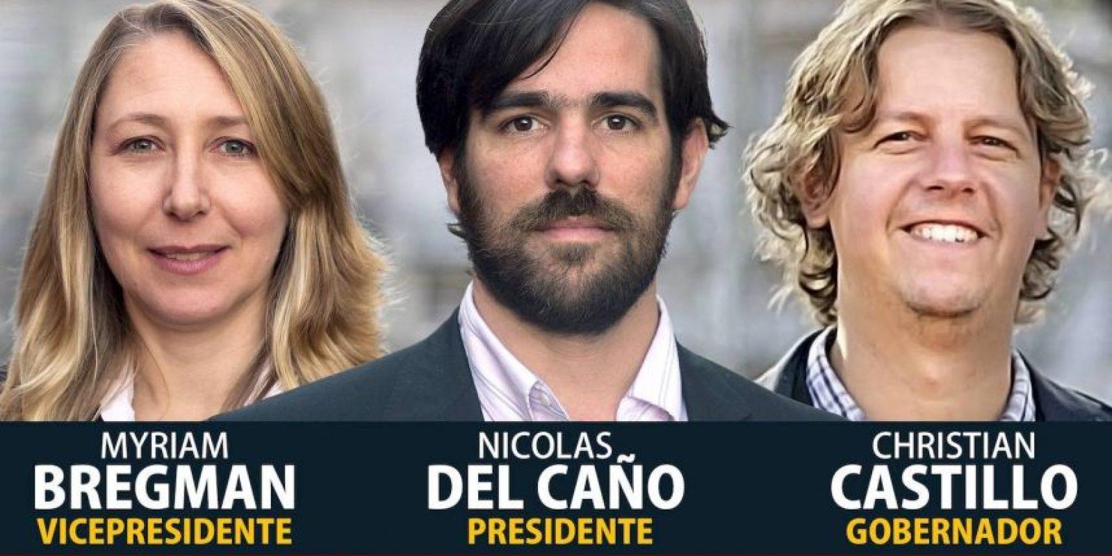 Diputado de la Nación Argentina Foto:facebook.com/NicolasDelCano.PTS
