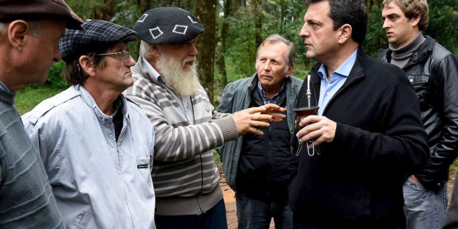 Fue Jefe de Gabinete de Cristina Fernández Foto:facebook.com/SergioMassaOK/