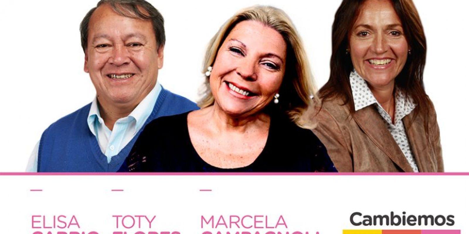 Diputada de la Coalición Cívica Foto:facebook.com/Elisa.Lilita.Carrio