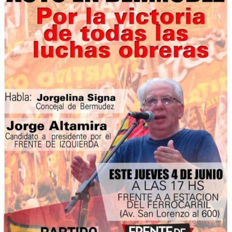 Foto:facebook.com/jorge.altamira.ok