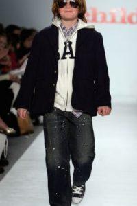 Además de aparecer en las películas de Lindsay Lohan, probó suerte como modelo infantil. Foto:Getty Images