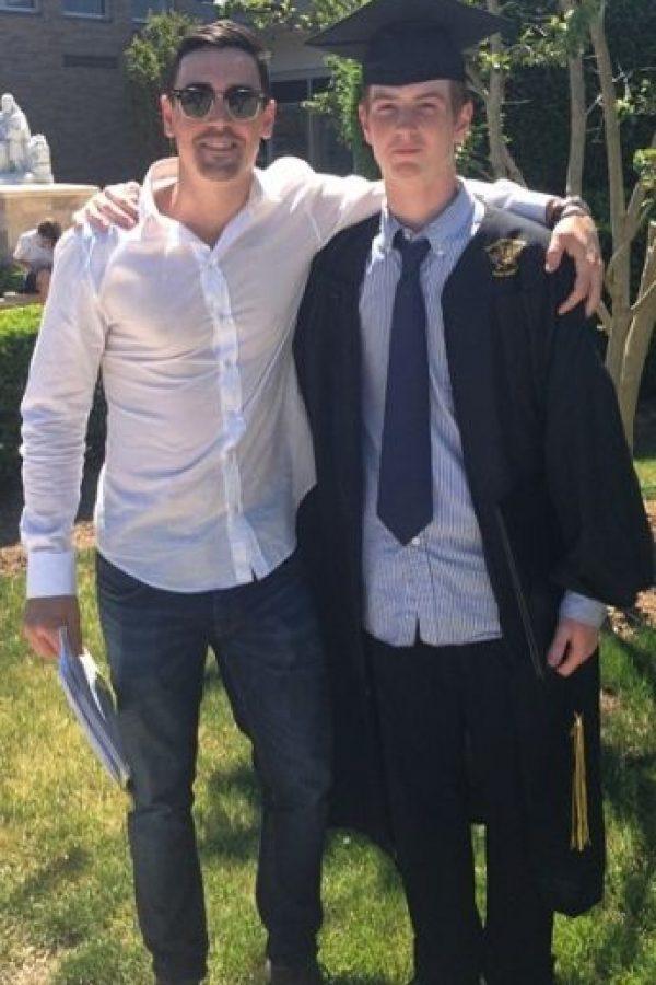 En junio del año pasado se graduó de la secundaria. Foto:vía instagram.com/codylohan