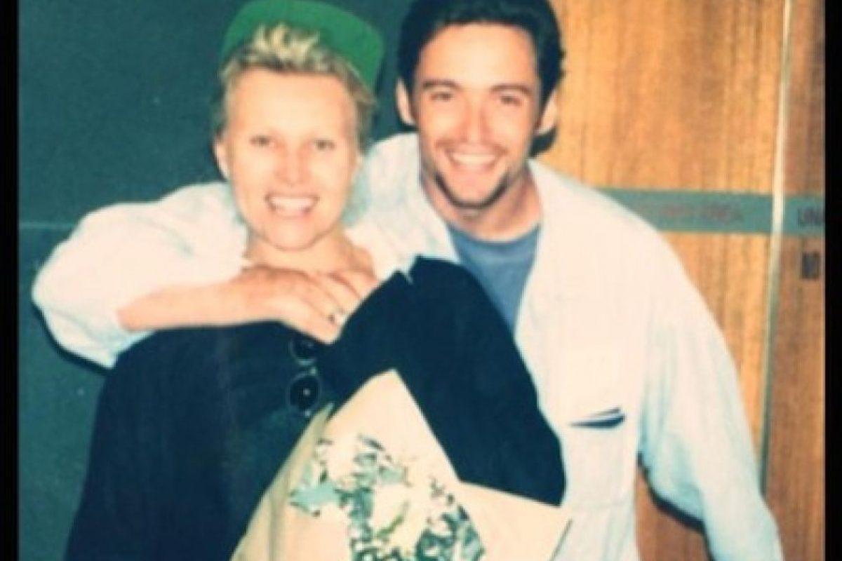 Hugh Jackman recordó el primer día de su luna de miel (1996) Foto:Twitter/RealHughJackman