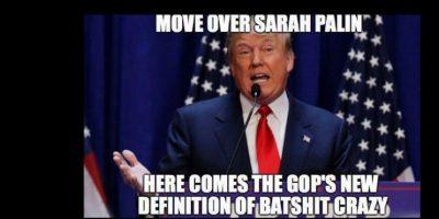 """""""Muévete, Sarah Palin. Aquí viene la nueva definición de locura"""". Foto:vía Twitter"""