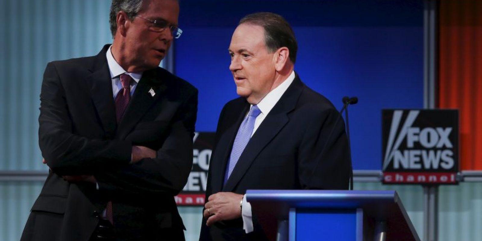 """Sobre la organización de planificación familiar Planned Parenthood, Jeb Bush aseguró que les había cortado los fondos cuando fungía como gobernador de Florida. """"Odio el concepto de aborto"""", indicó Trump por su parte. Foto:Getty Images"""