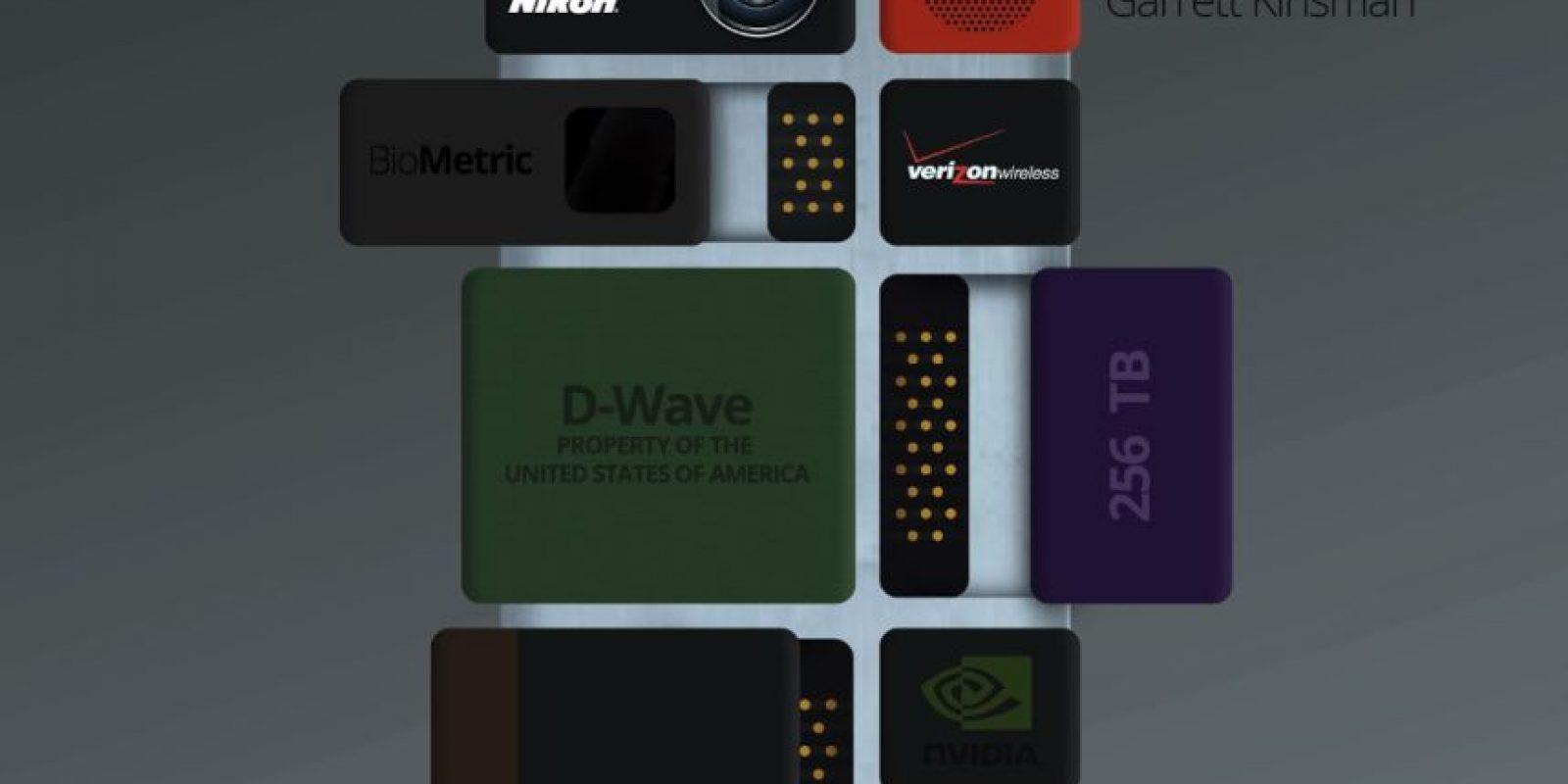 Existen muchos diseñadores y profesionales que tienen sus propias perspectivas de los teléfonos Ara. Se cree que pueden llegar al mercado en 2016 Foto:Garrett Kinsman