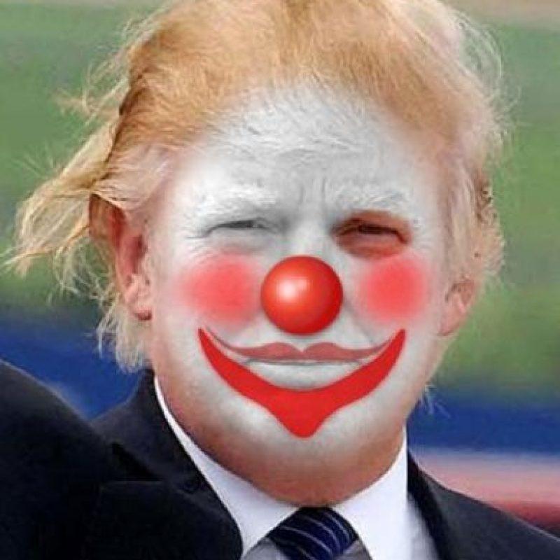 Mientras tanto, esto sucedía con Trump. Foto:vía Twitter