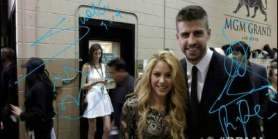 Shakira y Gerard Piqué Foto:Twitter/Shakira