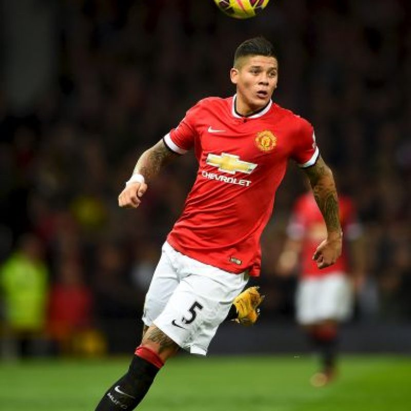 DEFENSAS: Marcos Rojo (Manchester United/Argentina) Foto: Getty Images