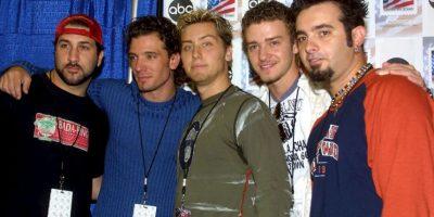 """En 2001, *N Sync lanzó su último álbum de estudio. La """"boy band"""" se separó en 2002. Foto:Getty Images"""
