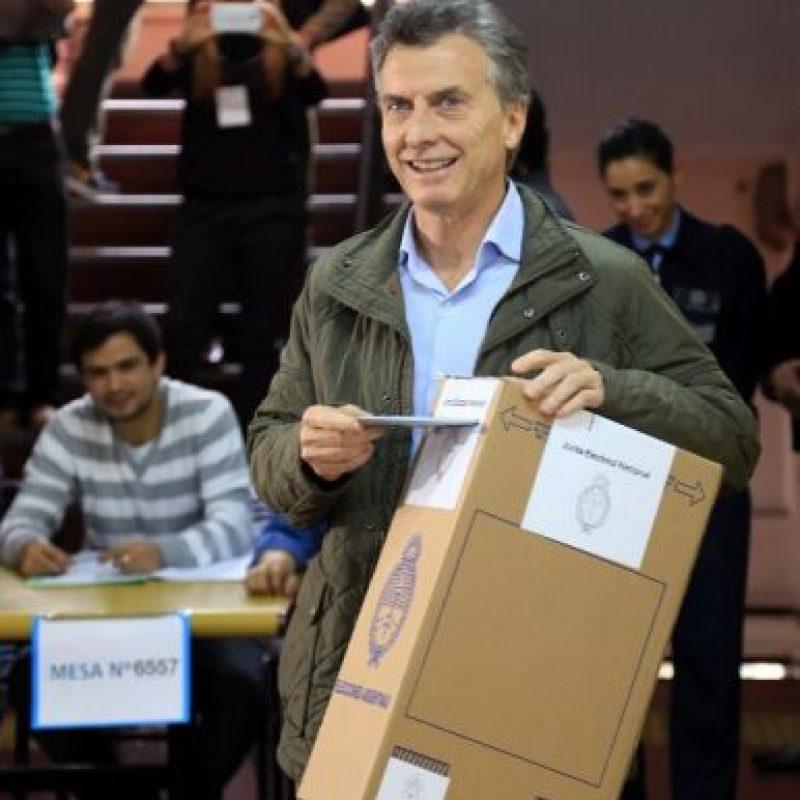Mauricio Macri, precandidato presidencial del PRO Foto:AFP