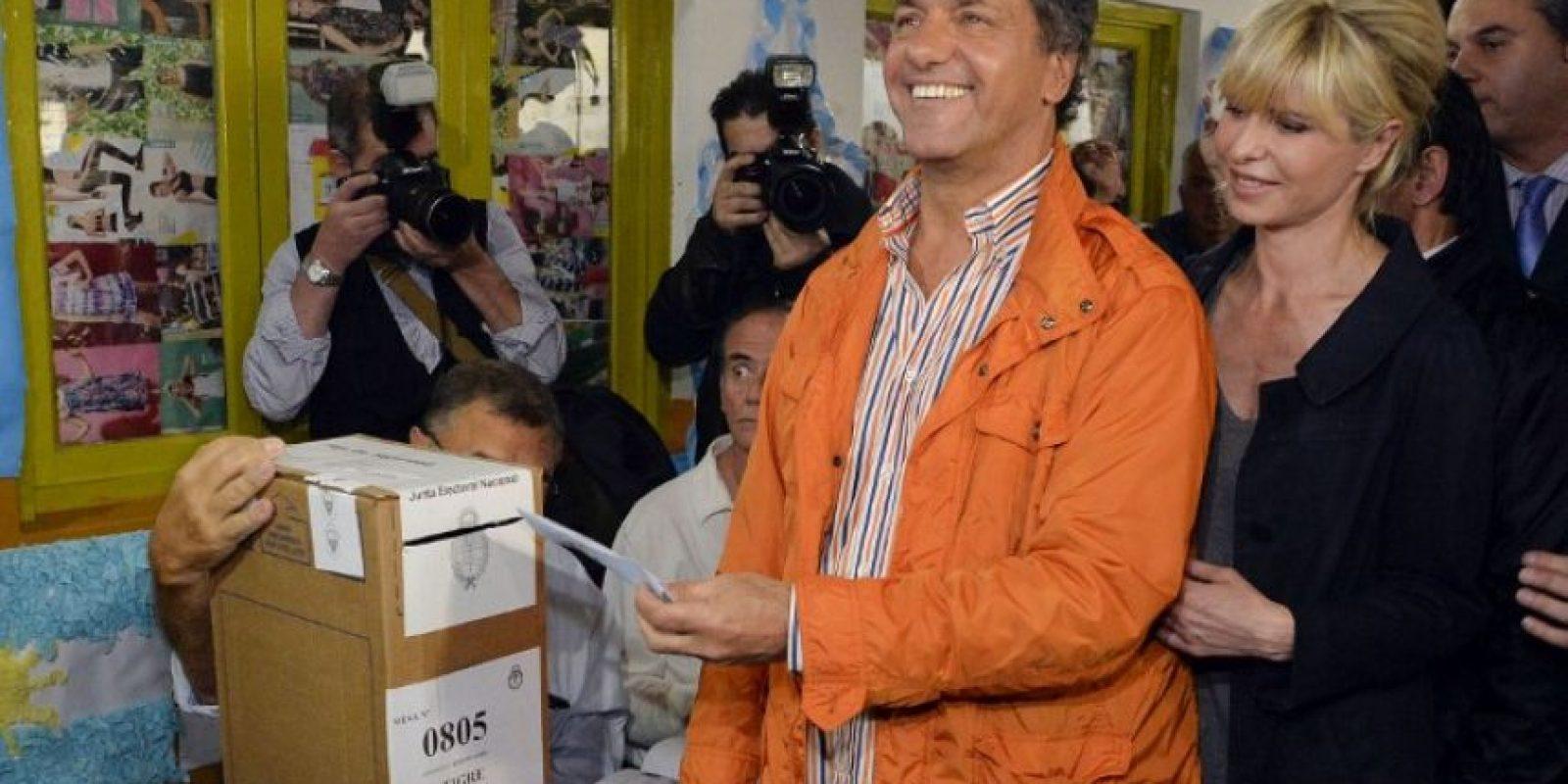 Daniel Scioli, precandidato presidencial del Frente para la Victoria Foto: AFP