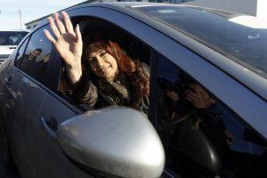 La presidenta Cristina Fernández de Kirchner Foto:AFP