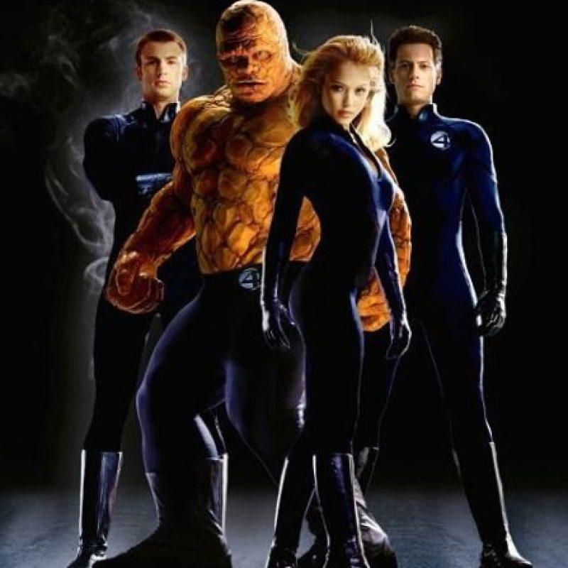 """""""Los 4 Fantásticos"""" (2005) Foto:IMDb"""