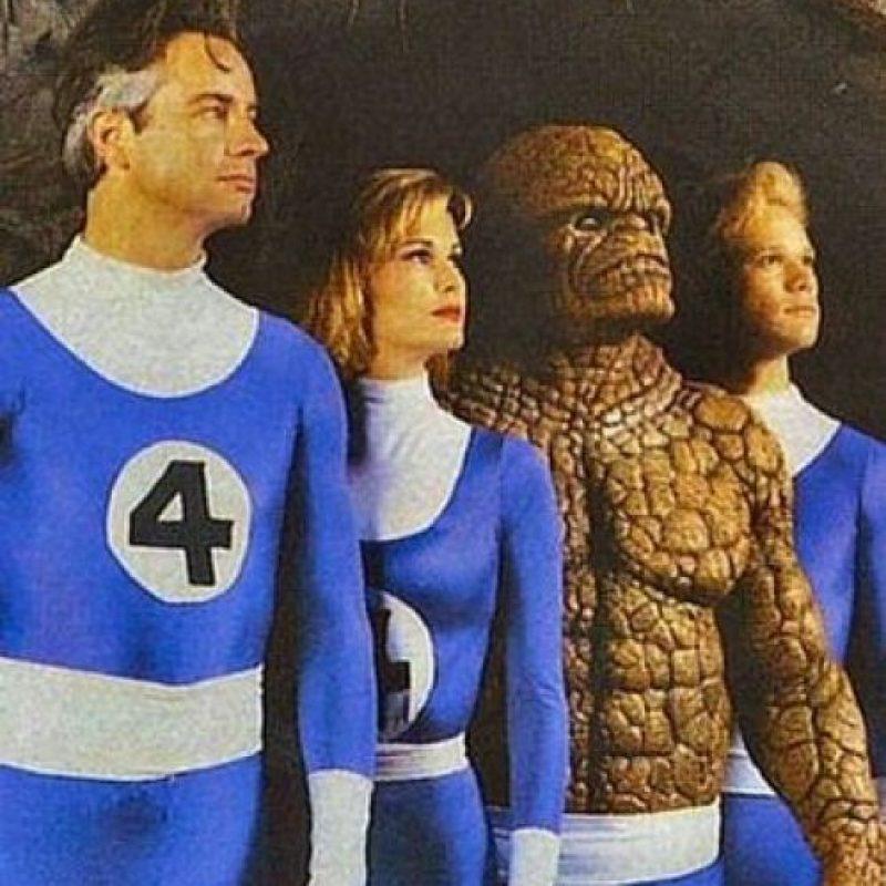"""""""Los 4 Fantásticos"""" (1994). Fue producida por Roger Corman y Bernd Eichinger. Foto:Pinterest"""