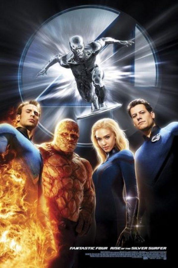 """""""Los 4 Fantásticos"""" (2007) Foto:IMDb"""