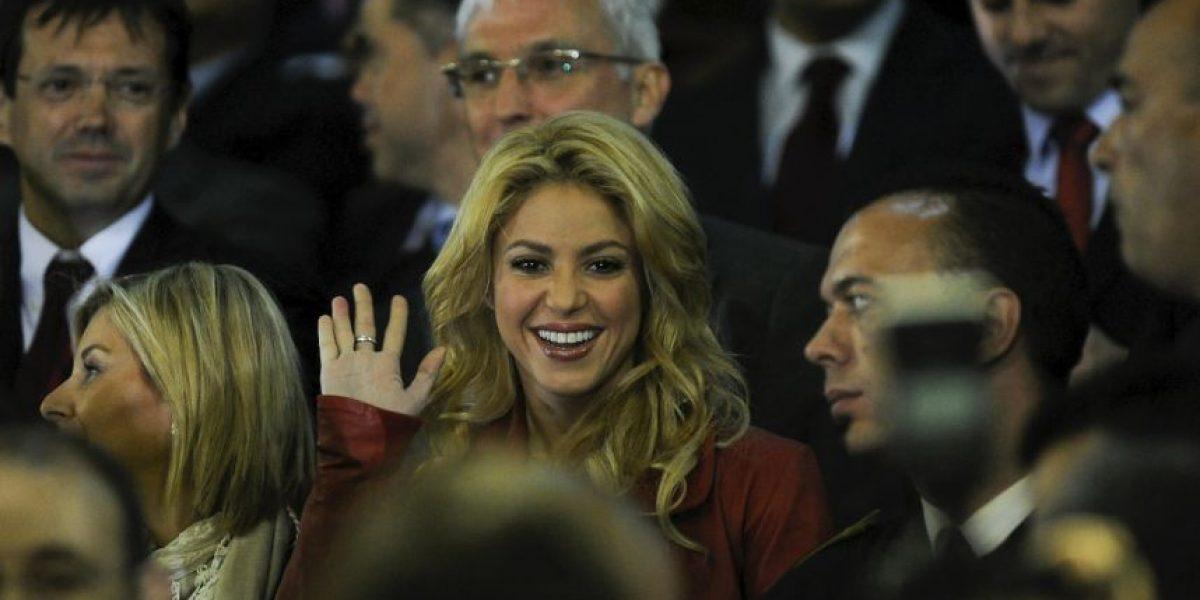 Shakira muestra el riesgo de vivir con un futbolista