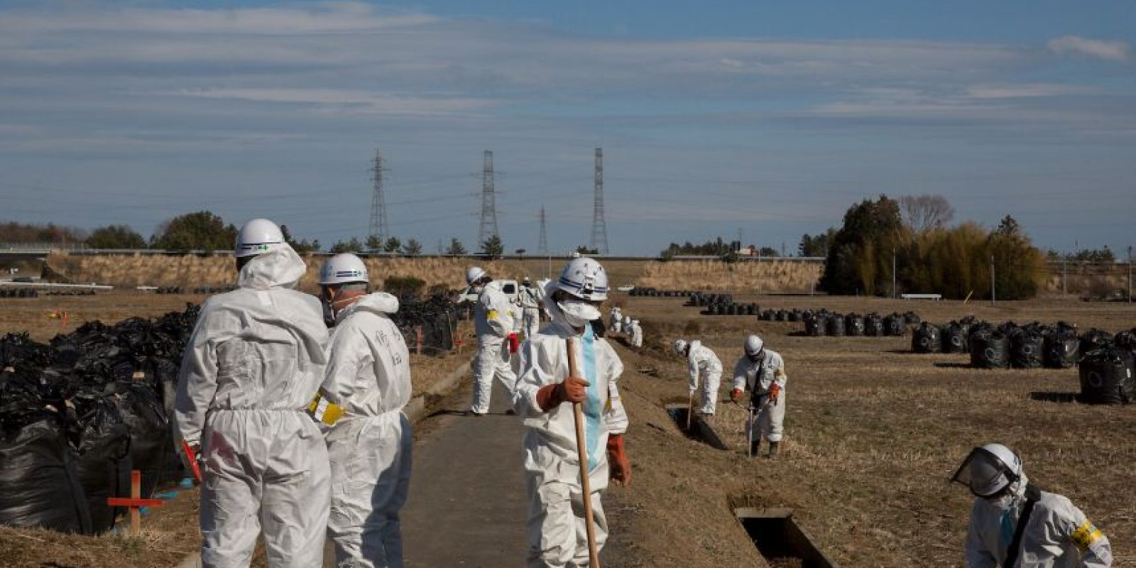 Debido al accidente del 11 de marzo de 2011 provocada por un terremoto y un tsunami. Foto:Getty Images