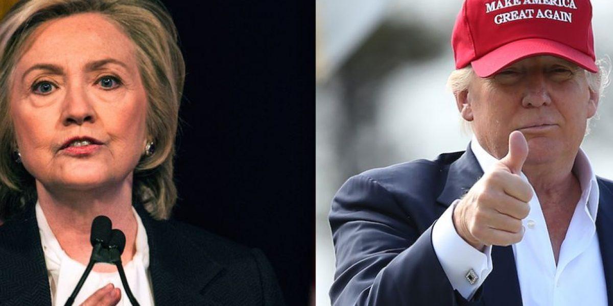 ¿Hillary Clinton o Donald Trump? Descubra quién es más fuerte en redes sociales