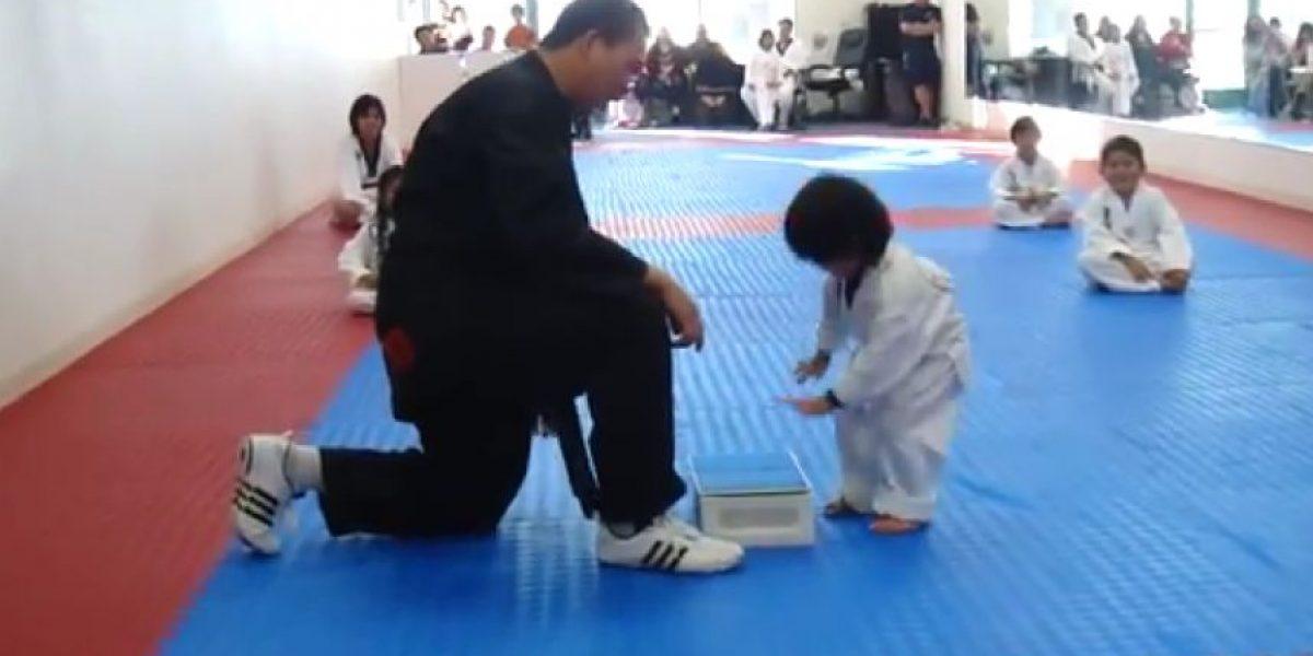Video: Este niño podría ser el taekwondista más pequeño del mundo
