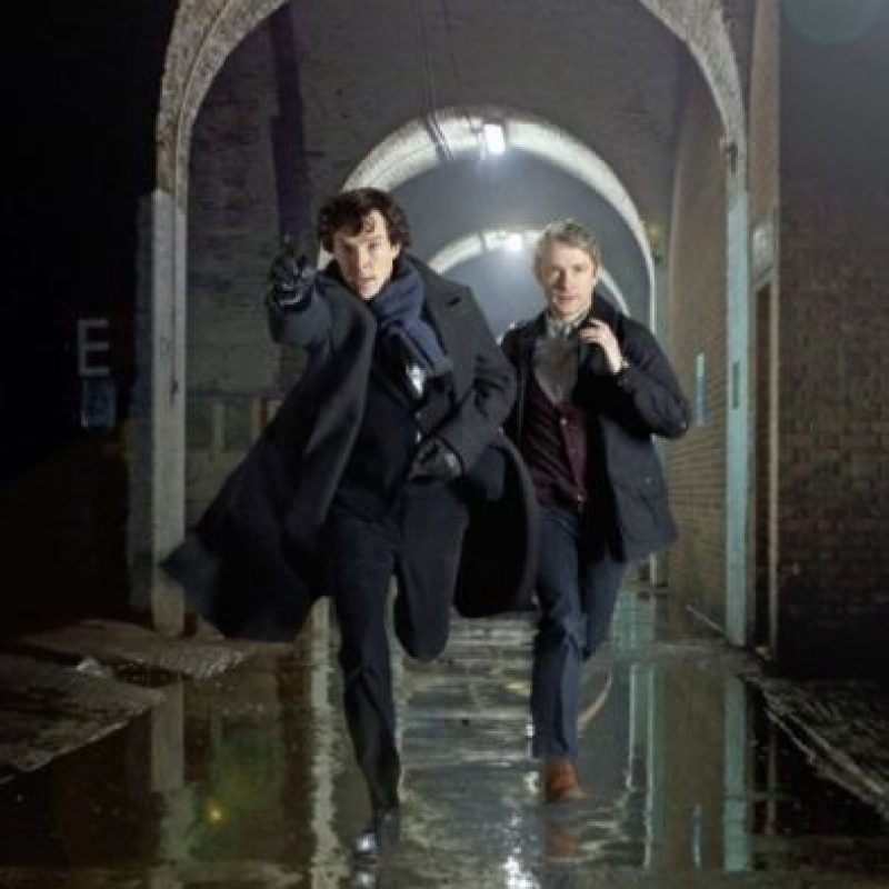 La serie de televisión estuvo protagonizada por Benedict y Martin Freeman. Foto:IMDb