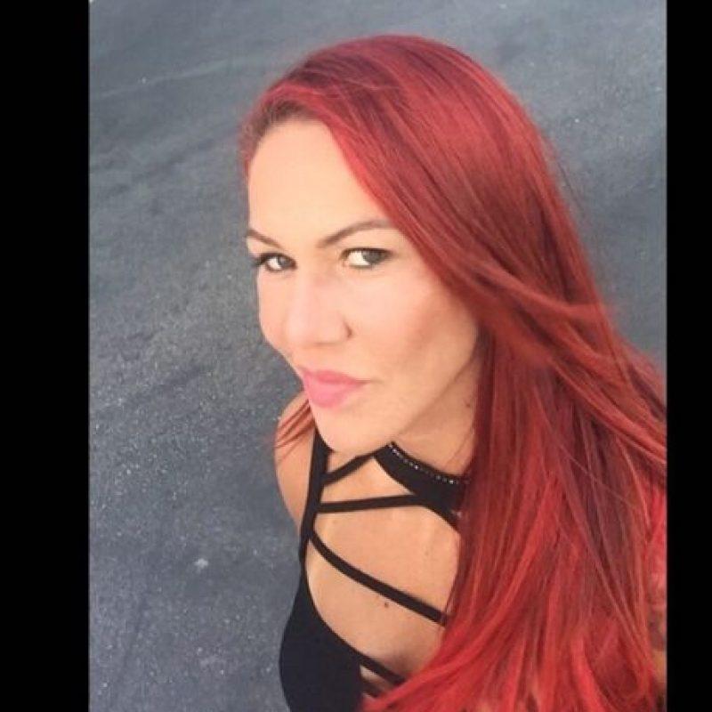 """""""Ella no está feliz con su vida. Es campeona de la UFC y en todas las fotos sale con cara de gruñona"""", dijo. Foto:Via instagram.com/criscyborg"""