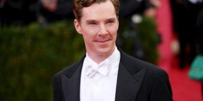 """Benedict Cumberbatch es un actor británico famoso por interpretar al célebre detective """"Sherlock Holmes"""" Foto:Getty Images"""