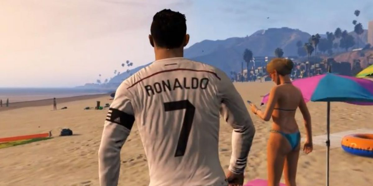 VIDEO: Cristiano Ronaldo es la nueva estrella de Grand Theft Auto