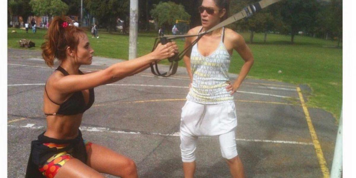Este es el entrenamiento de Sara Uribe para mantener la línea