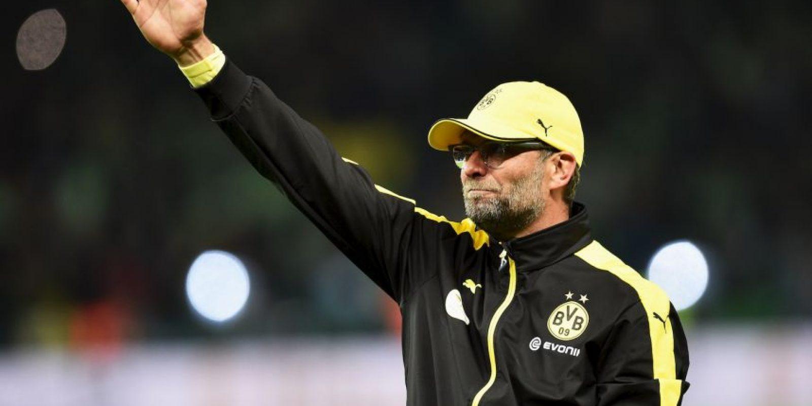 5. Un Borussia Dortmund sin Jürgen Klopp Foto:Getty Images