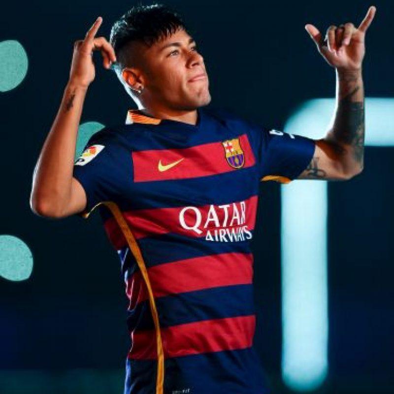 Neymar también confesó que su ídolo era Robinho Foto:Getty Images